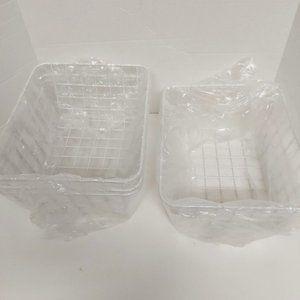 *3/$85* 4-pack wire storage baskets organisers